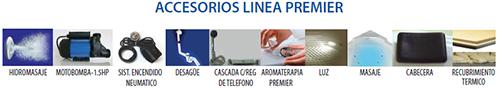 Accesorios línea Premier de tinas Oceanic