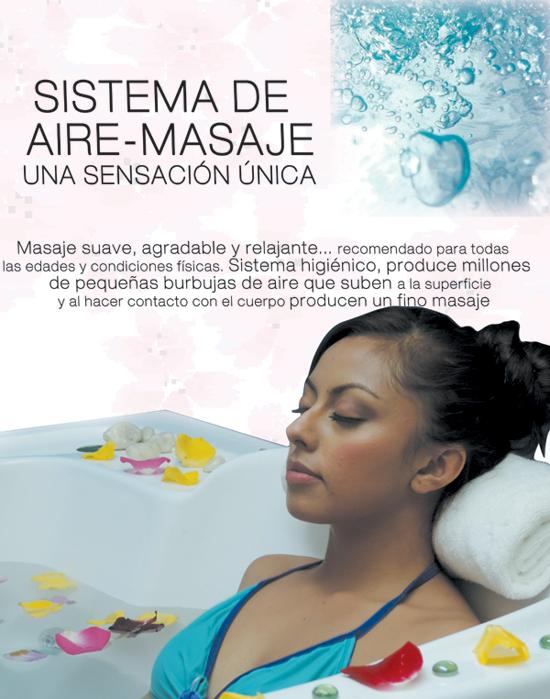 Sistema de aire masaje Oceanic