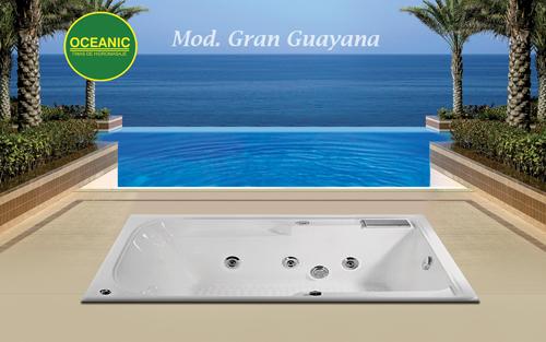 Modelo Gran Guayana de tinas de hidromasaje oceanic
