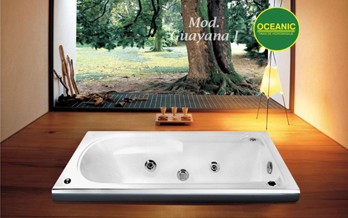 Modelo Guayana I de tinas de hidromasaje Oceanic