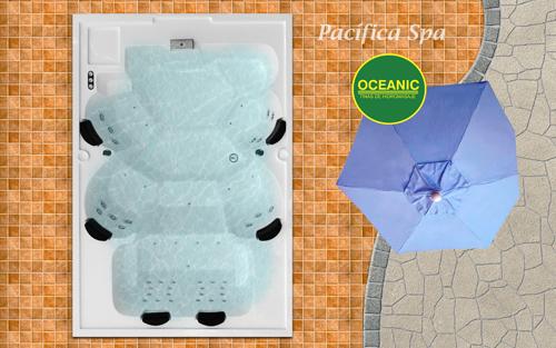 Spa modelo Pacifica de tinas Oceanic