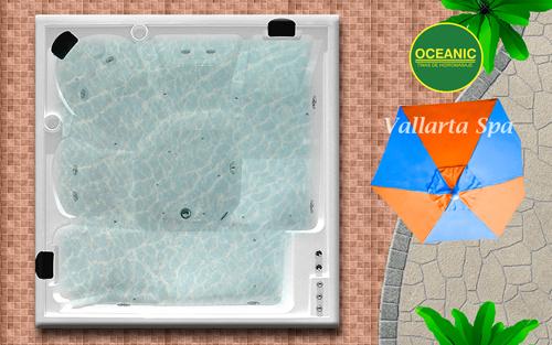 Spa Modelo Vallarta de tinas de hidromasaje Oceanic