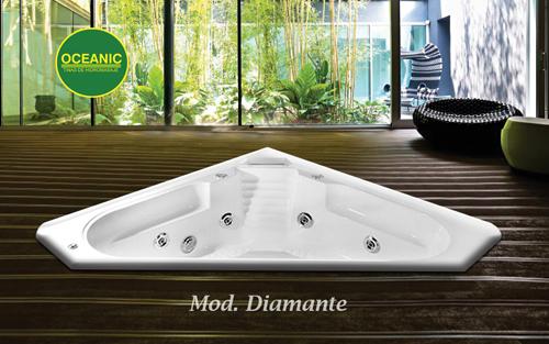 Modelo Diamante de tinas de hidroamasaje Oceanic